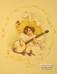 Summer Girl by Maud Humphrey  - Art Print
