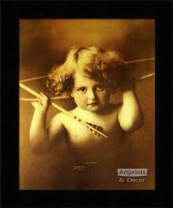 Cupid Awake (8.75 x 12) - Framed Art Print*