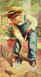 The Little Gardener - Art Print