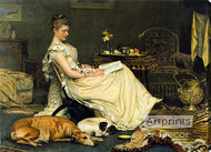 Cosy by Charles Burton Barber - Stretched Canvas Art Print