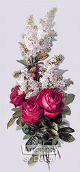 Roses and Lilacs by Paul de Longpre - Art Print