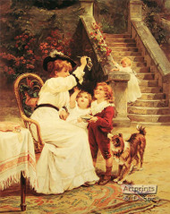 Bubbles by Frederick Morgan - Art Print
