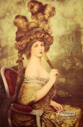 A Fine Lady - Art Print