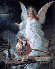 Guardian Angel - Art Print