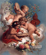 Cherub Ensemble - Art Print