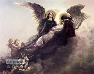 Born Away by Angels by Carl Gutherz - Art Print