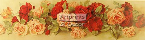 Yard of Roses - Art Print