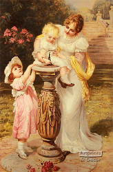 Sunny Hours by Frederick Morgan - Art Print