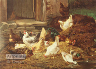 The Foraging Party E.R. Wracs - Art Print