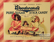 Woodward's Pure Sugar Stick Candy - Art Print
