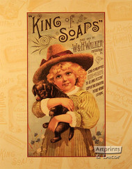 King of Soaps - Art Print