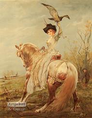 Diana, Goddess of the Hunt by Koppay - Art Print