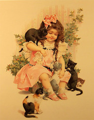 Feline Friends - Art Print