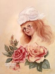 Coquette by E. Maiwald - Art Print