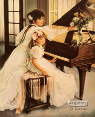 First Recital by Sandra Kuck - Art Print