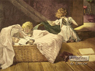 The Angel's Visit by Clara Walther - Art Print