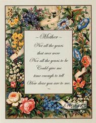 Mother Poem - Art Print^