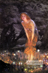 Midsummer Eve by Edward R. Hughes - Art Print