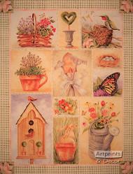Garden Pantry - Framed Art Print