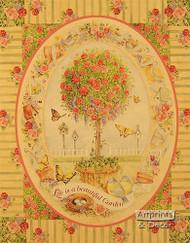 Life is a Beautiful Garden - Framed Art Print