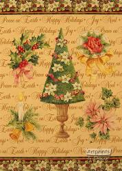Happy Holidays - Framed Art Print