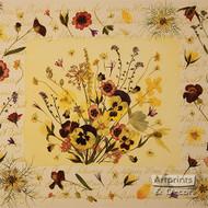 Sweet April Flowers - Framed Art Print
