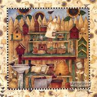 Potting Shelves - Framed Art Print