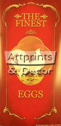 French Hens/ Finest Eggs - Framed Art Print