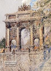 Arc de Triomphe du Carrousel - Art Print^