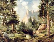 Sentinel Rock - Framed Art Print