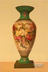 A Porcelain Vase - Framed Art Print