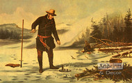 American Winter Sports - Trout fishing on Chateaugay Lake