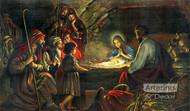 The Nativity - Framed Art Print