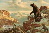 Mountain Bears - Framed Art Print