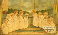 Innocence of Prayer - Framed Art Print