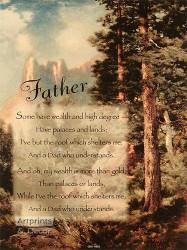 Father - Framed Art Print
