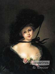 Kathleen by Francois Martin-Kavel - Art Print