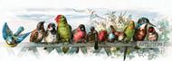 Feathered Friends by Paul de Longpre - Art Print
