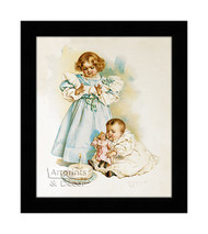 The First Birthday - Framed Art Print