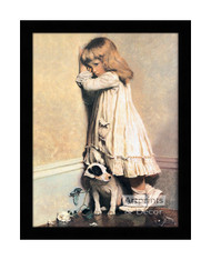 In Disgrace - Framed Art Print