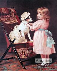 How like Grandma by C. Burton Barber - Art Print