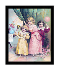 Surprise Party - Framed Art Print