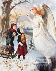 The Guardian Angel II - Art Print