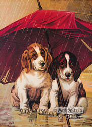 A Rainy Day - Art Print