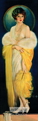 The Selz Good Shoes Lady by Howard Chandler Christy - Art Print