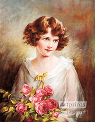 In the Month of Roses by Zula Kenyon - Art Print