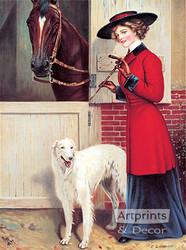 Ready to Ride by C. Dillworth - Art Print