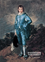 The Blue Boy by Thomas Gainsborough - Art Print