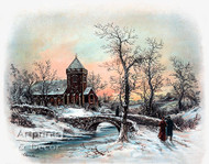 Sunday Night in the Country by William Henry Chandler - Art Print
