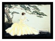The Song Bird - Framed Art Print